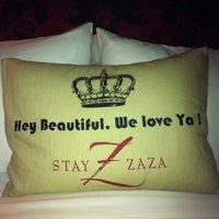 Photo taken at Hotel Zaza by JB S. on 12/11/2011
