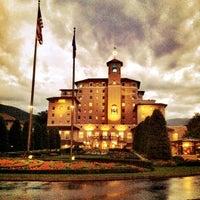 Photo taken at The Broadmoor by Lori W. on 7/29/2011