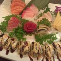 Photo taken at Kyoto Sushi Bar by Efrain M. on 1/11/2012