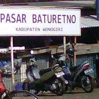 Photo taken at Pasar Baturetno 1 by Taufik H. on 12/14/2011