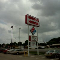 Photo taken at Huddle House by Rachel E. on 5/4/2012
