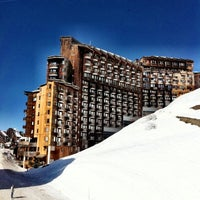 Photo taken at Avoriaz by Anastasia T. on 3/20/2012
