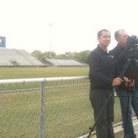 Photo taken at Don Floyd Memorial Stadium by Jordan M. on 3/28/2011