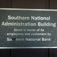 Photo taken at Southern National Administration Building by Hunter W. on 9/25/2011