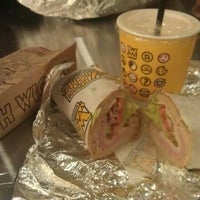 Photo taken at Which Wich? Superior Sandwiches by kyla on 11/24/2011