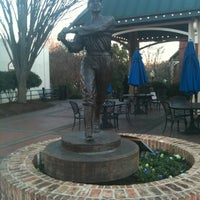 Photo taken at Shoeless Joe Jackson Statue by Richard W. on 1/14/2012