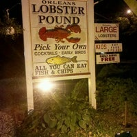 Photo taken at Orleans Lobster Pound by Shawn M. on 9/16/2011