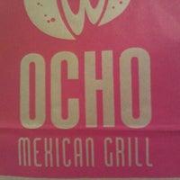 Photo taken at Ocho Mexican Grill by Derek B M. on 10/4/2011