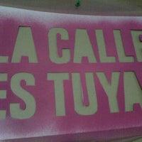 Photo taken at La Calle es Tuya by La Calle es Tuya on 2/15/2011