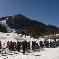 Photo taken at Hunter Mountain Ski Resort by stephen p. on 2/24/2011