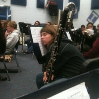 Photo taken at Matanzas High School Band Room by Stuart K. on 1/31/2011
