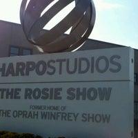Photo taken at Harpo Studios by Lauren L. on 10/30/2011