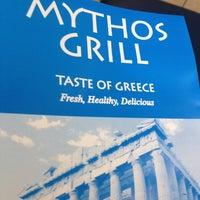 Photo taken at Mythos Grill by Ashley B. on 7/17/2012
