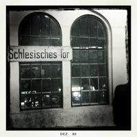 Photo taken at U Schlesisches Tor by Sven A. on 12/22/2010