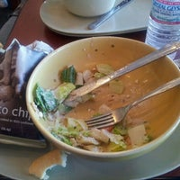 Photo taken at Panera Bread by Melissa G. on 3/6/2012