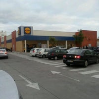 Photo taken at Lidl by Miguel on 12/4/2011