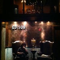 Photo taken at The Edison by jen s. on 8/25/2012