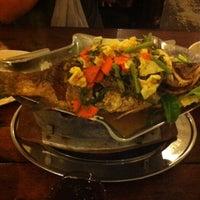 Photo taken at Khunthai Authentic Thai Restaurant by Yuki C. on 2/4/2012