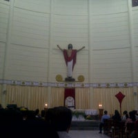 Photo taken at Gereja katolik St Maria by Herlin A. on 4/21/2011