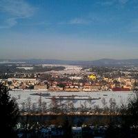 Photo taken at Vyhlídka Na skalce by Radim P. on 1/18/2012