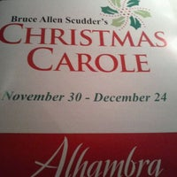 Photo taken at Alhambra Theatre & Dining by Quoc B. on 12/2/2011