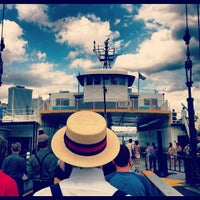 Photo taken at Governors Island Ferry by Mollie  G. on 8/18/2012