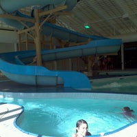 Photo taken at Bogan Aquatic Center by caroline a. on 1/28/2012