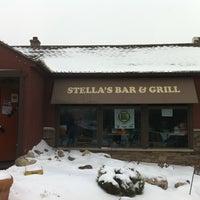Photo taken at Stella's Hamburgers by Jim H. on 2/26/2011