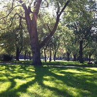 Photo taken at Parc Sir-Wilfrid-Laurier by Camille C. on 10/9/2011