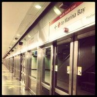Photo taken at Braddell MRT Station (NS18) by Gabriela L. on 6/30/2012