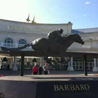 Photo taken at Churchill Downs by Erin C. on 4/24/2012