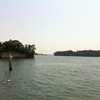 Photo taken at 松島湾遊覧船乗り場 by TOM on 6/2/2012