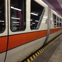 Photo taken at Monorail Orange by Amiee L. on 11/6/2011