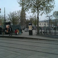Photo taken at Station Porte de Versailles [T2,T3a] by Suthaa m. on 4/5/2012