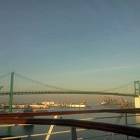 Photo taken at World Cruise Terminal by Mitch K. on 1/19/2012