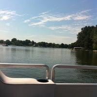 Photo taken at Holiday Shores Lake by Samantha B. on 8/20/2011