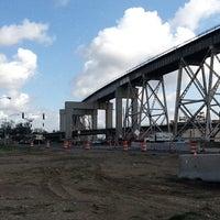 Photo taken at Huey P. Long Bridge by Darrel C. on 6/27/2011