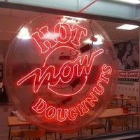 Photo taken at Krispy Kreme Doughnuts by Joe D. on 1/1/2011