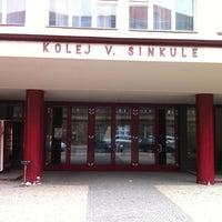 Photo taken at Sinkuleho kolej by Martin K. on 3/11/2011