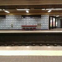 Photo taken at Metro Colégio Militar / Luz [AZ] by Catarina B. on 8/18/2012