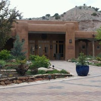 Photo taken at Ojo Caliente Mineral Springs Resort & Spa by Rod J. on 4/29/2012