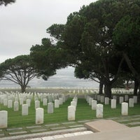 Photo taken at Fort Rosecrans National Cemetery by René P. on 8/23/2012