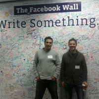Photo taken at Facebook 1050 Building 2 by George F. on 12/6/2011
