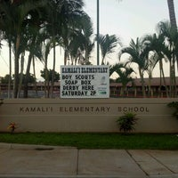 Photo taken at Kamali'i Elementary Hm of The Pueo by Howard D. on 1/28/2012