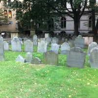 Photo taken at King's Chapel Burying Ground by David R. on 10/17/2011