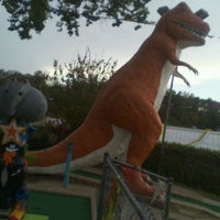 Photo taken at Peter Pan Mini Golf by Joseph N. on 9/29/2011