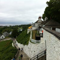 Photo taken at Fort Mackinac by Jim T. on 7/26/2012