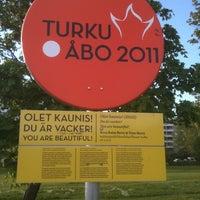 Photo taken at Vasaramäenpuisto by Sami K. on 5/26/2011