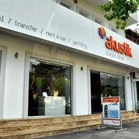 Photo taken at Akustik Tourism Center by Tolga Y. on 8/14/2012