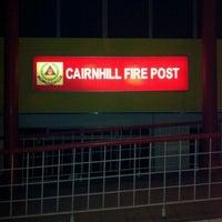 Photo taken at Cairnhill Fire Post by Iskandar S. on 2/16/2012